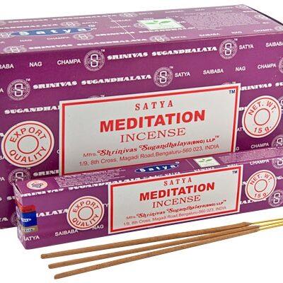 Encens Meditation 12 boites