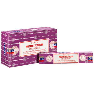 Encens Meditation 12 boites bis