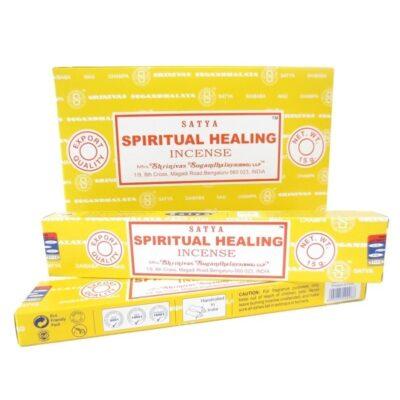 encens 12 boites satya spiritual-healing-satya