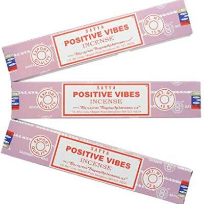 encens satya positive vibes 12 boites